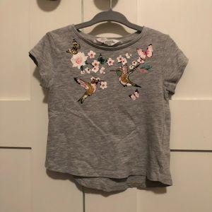 H&M 1/12-2 Yrs Graphic Short Sleeve Tee Shirt